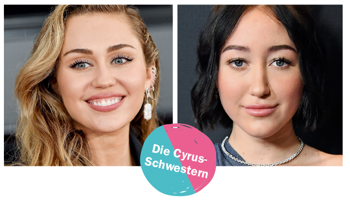 Make-up von Miley und Noah Cyrus