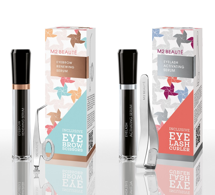 M2 Summer Activating Eyelash Set & M2 Summer Eyebrow Renewing Serum: M2 Beauté