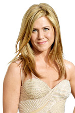 Jennifer Aniston im Portrait