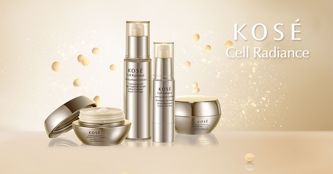 KOSÉ Cell Radiance mit Soja Repair Cocktail