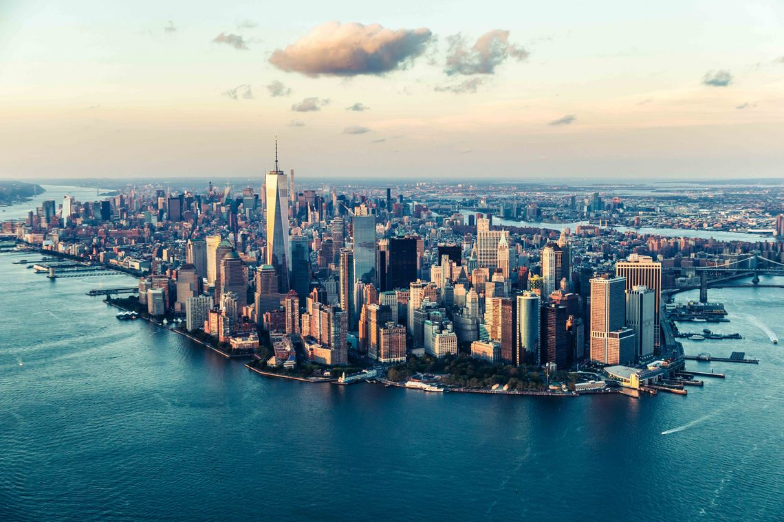 Skyline von New York
