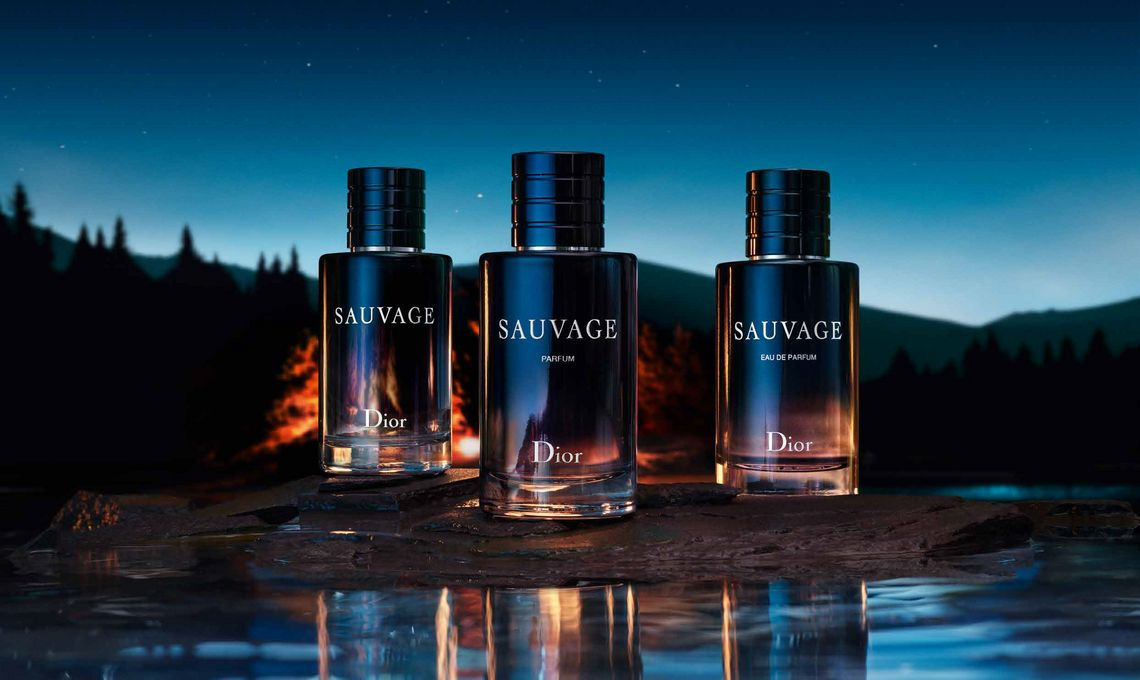 Dior Sauvage Parfum Johnny Depp
