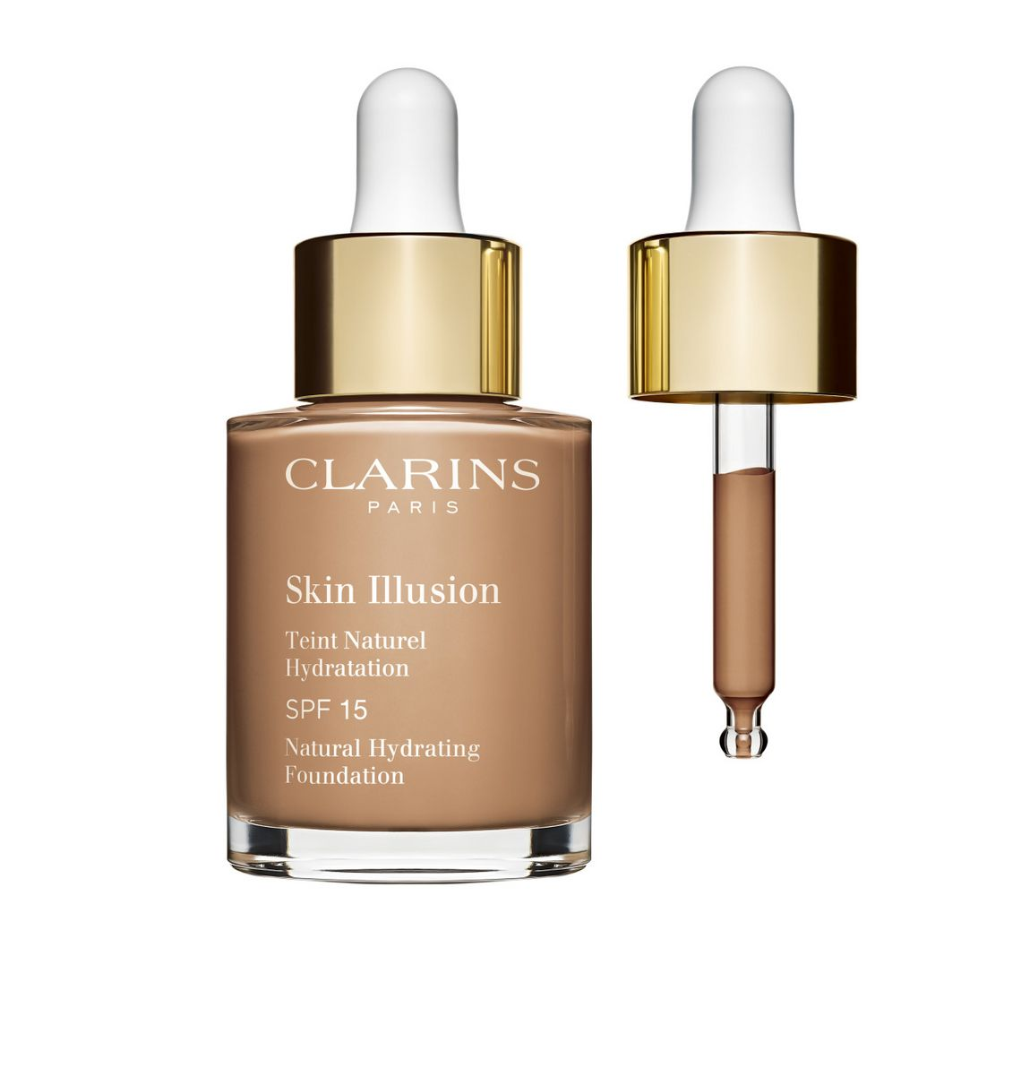 Clarins Skin Illusion Foundation Flakon
