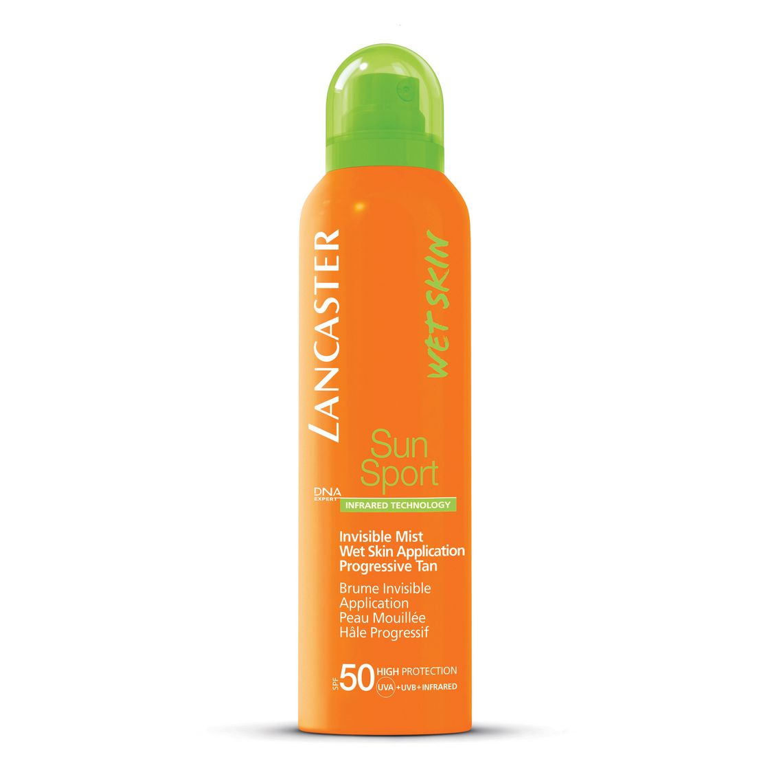 Sun Sport Invisible Mist Wet Skin Application Progressive Tan SPF 50: Lancaster